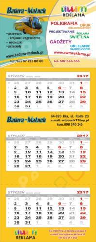 Kalendarz Badura
